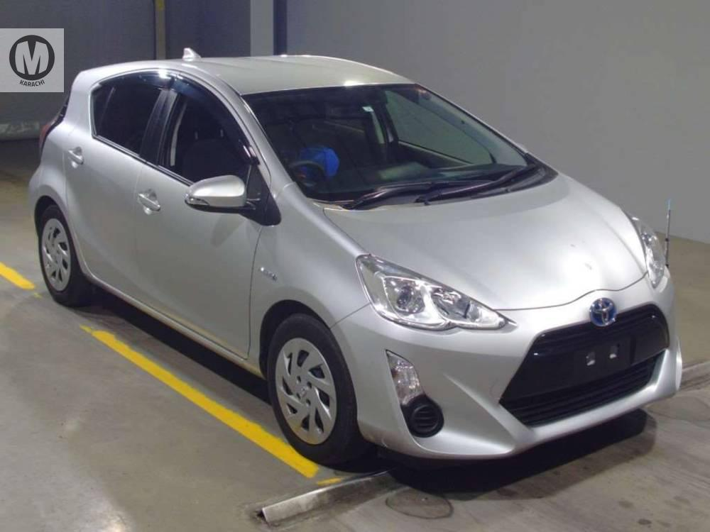TOYOTA AQUA S (KEY START) 2017 MODEL SILVER COLOUR 42,000 KM GRADE  4  Merchants Automobile Karachi Branch, We Offer Cars With 100% Original Auction Report Based Cars With Money Back Guarantee.  Recommended Tips To Buy Japanese Vehicle:  1. Always Check Auction Report. 2. Verify Auction Report From Someone Else. 3. Ask For Japan Yard Pics If Possible.  MAY ALLAH CURSE LIARS..