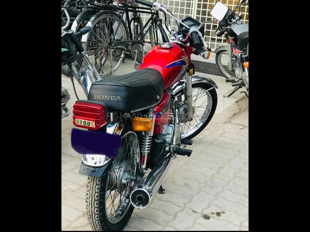 Honda CG 125 1995 Image-1
