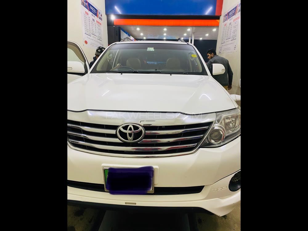 Toyota Fortuner TRD Sportivo 2014 Image-1