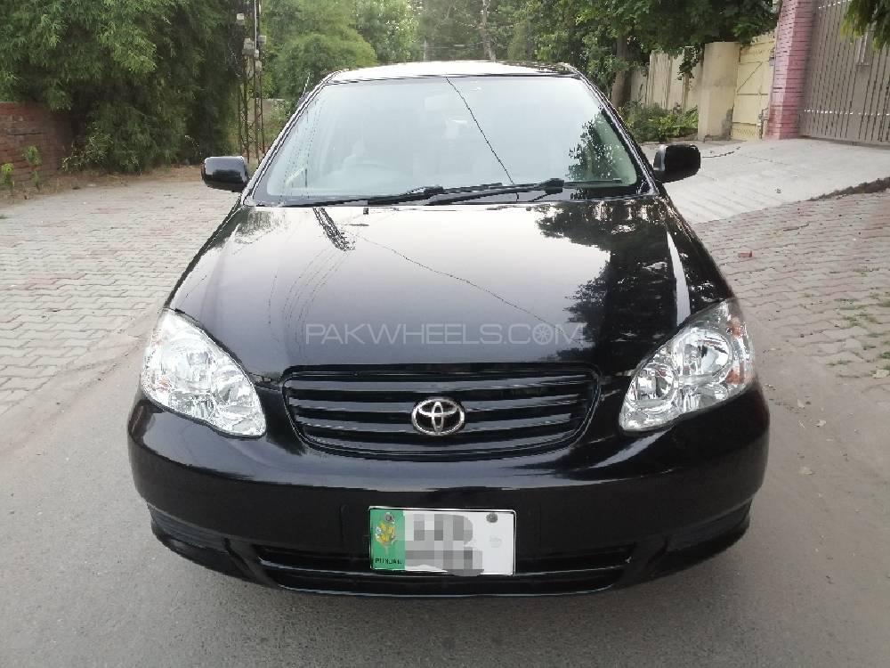 Toyota Corolla SE Saloon Automatic 2004 Image-1