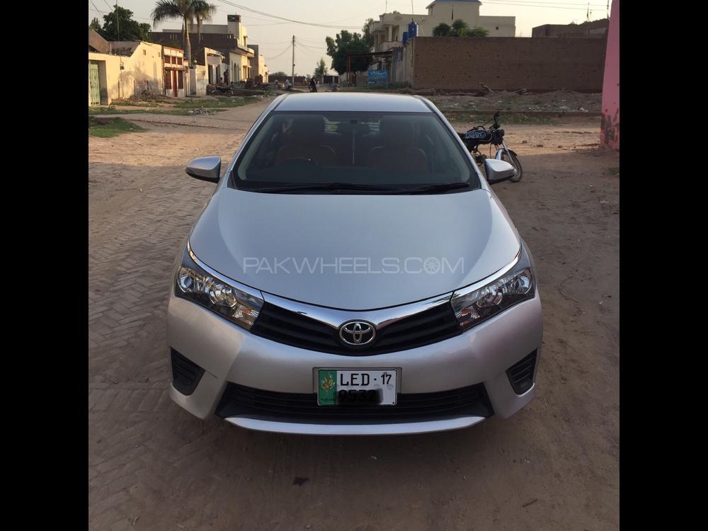 Toyota Corolla XLi VVTi 2016 Image-1