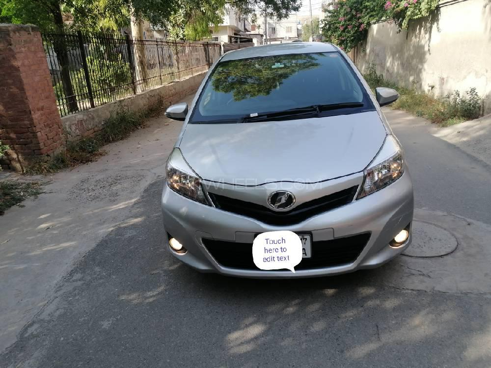 Toyota Vitz F Intelligent Package 1.0 2014 Image-1