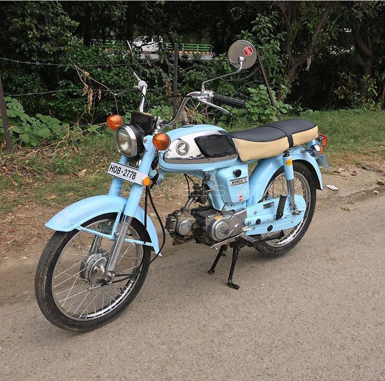 Honda CD 70 - 1973  Image-1