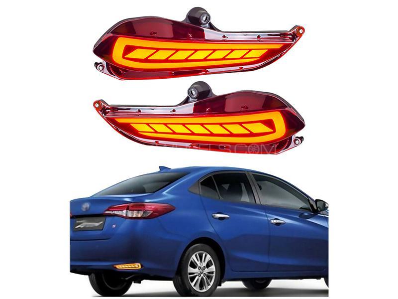 Toyota Yaris 2020 Rear Bumper Reflector  Image-1
