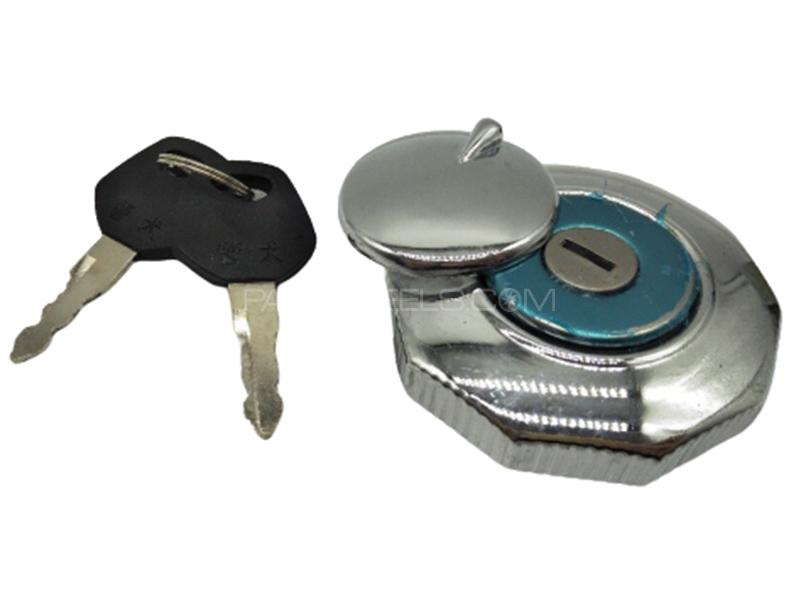 Fuel Tank Cap With Key For 70cc Image-1