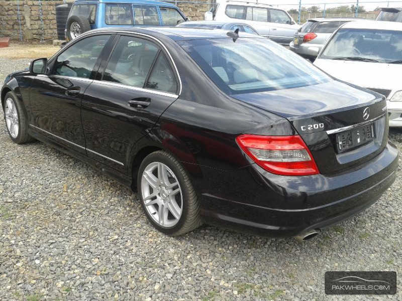 mercedes benz c class c200 cdi 2008 for sale in islamabad pakwheels. Black Bedroom Furniture Sets. Home Design Ideas