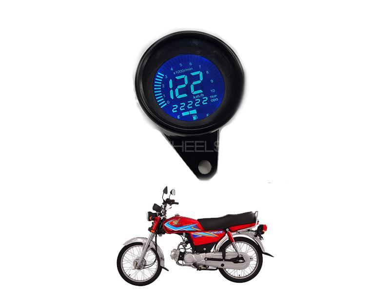 Universal Bike Cable Operated Speed Rpm Meter  Image-1
