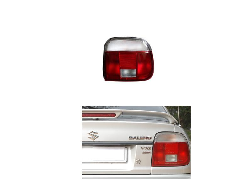 Suzuki Baleno 1998-2005 White Back Light Cover Rh Image-1