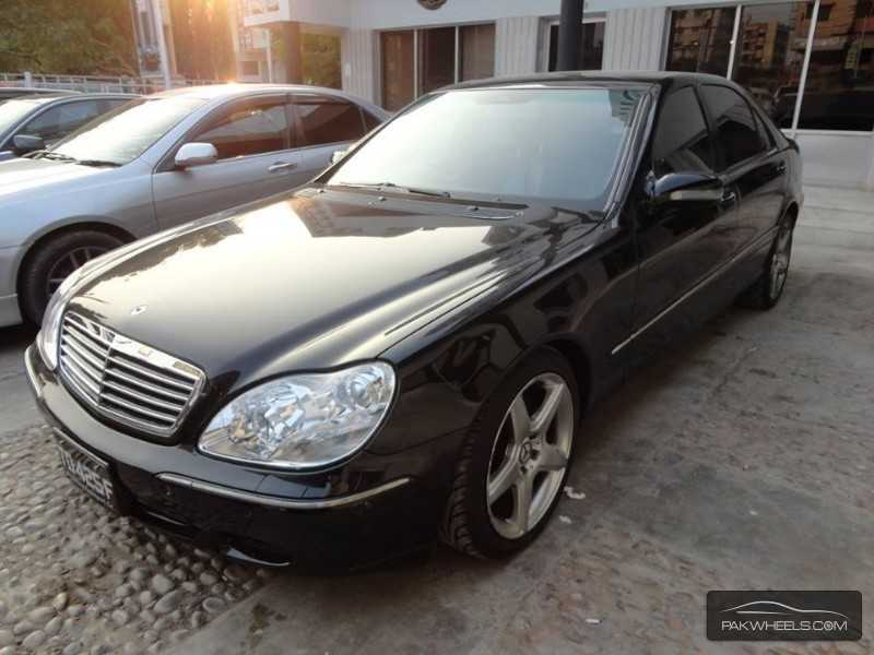 mercedes benz s class s500 2004 for sale in karachi