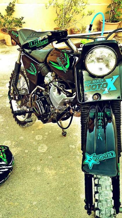 Kawasaki KLX140 Monster Energy - 1986  Image-1
