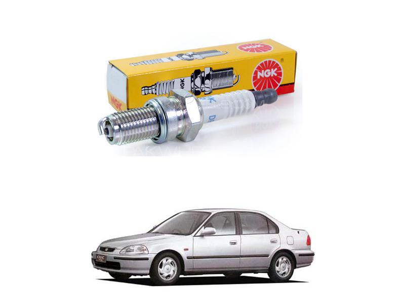 Honda Civic 1996-1999 Ngk Spark Plugs Bkr6ey-11 Image-1
