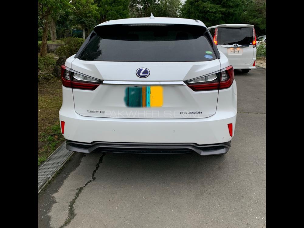 Lexus RX Series 450H 2018 Image-1