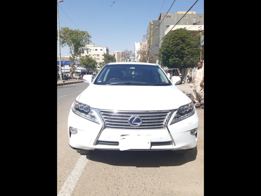 Lexus RX Series 450H 2012 Image-1