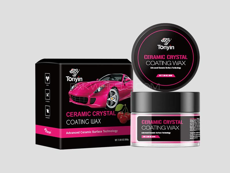 Tonyin Car Care Ceramic Crystal Coating Wax Cherry Scent 200g in Lahore