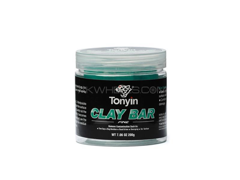 Tonyin Car Care Clay Bar Fine 200g Image-1