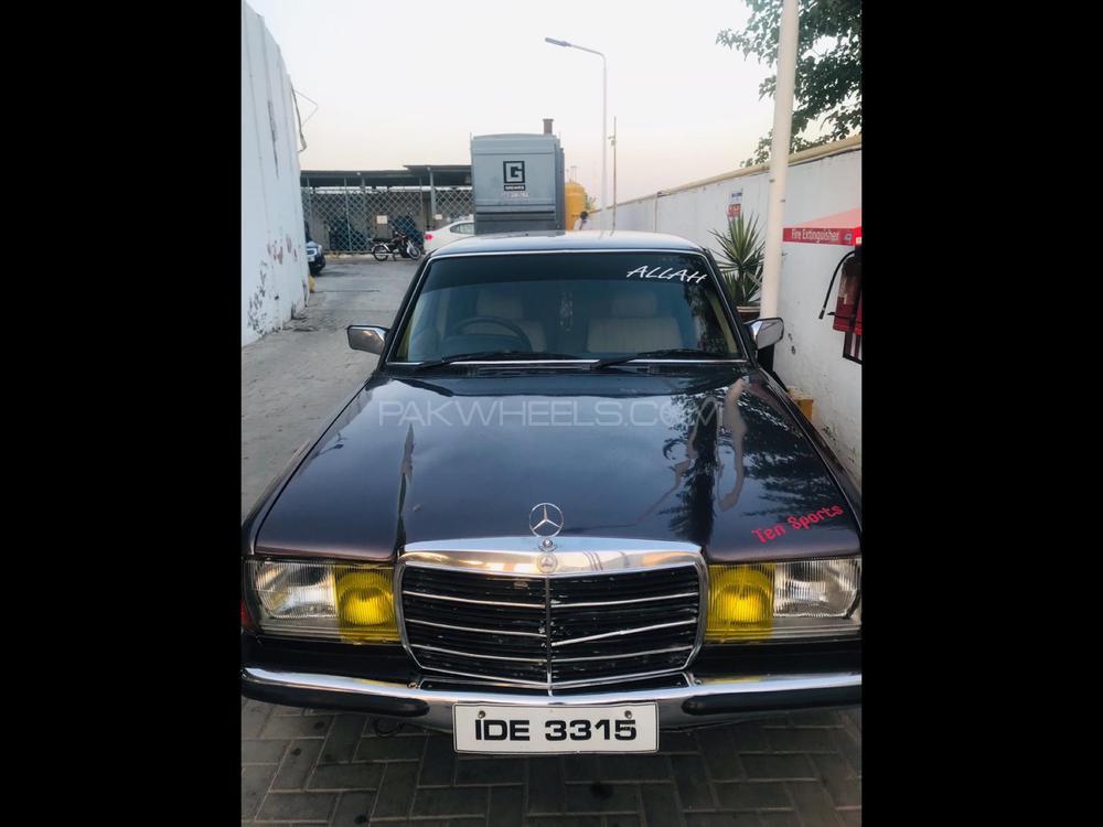 Mercedes Benz S Class 300SE 1985 Image-1
