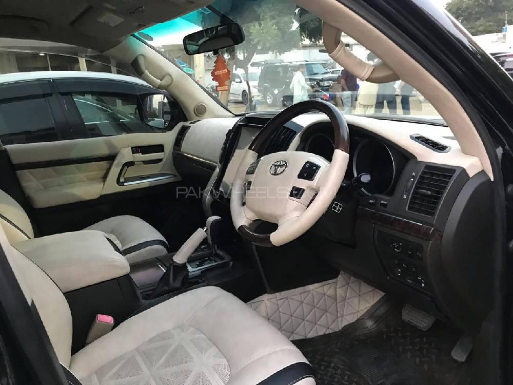 Toyota Land Cruiser AX G 60th Black Leather Selection 2008 Image-1