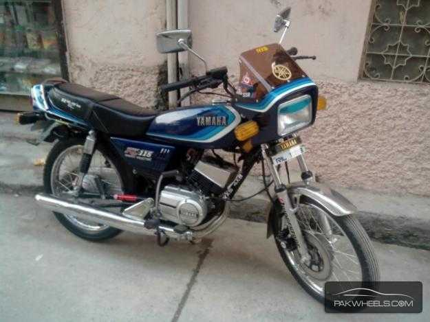 Yamaha rx 115 car interior design for Yamaha rx115 motorcycle for sale