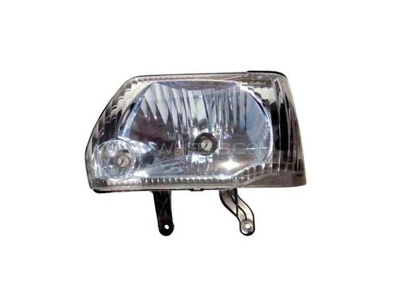 Suzuki Mehran 2012-2020 Blue Headlight LH Image-1