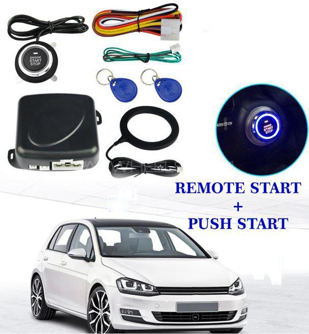 BUY ORIGINAL A+ QUALITY PUSH START REMOTE START KIT TOUCH START AL CAR Image-1