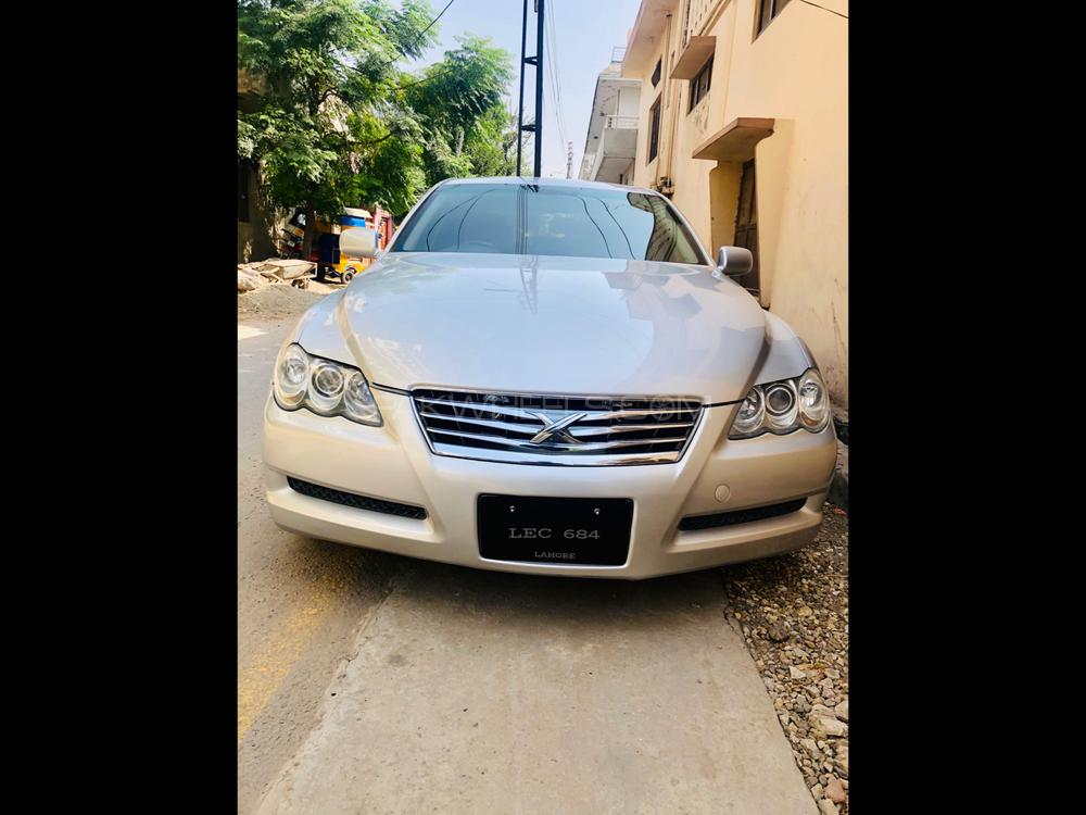Toyota Mark X 250G Four Black Leather Limited 2011 Image-1