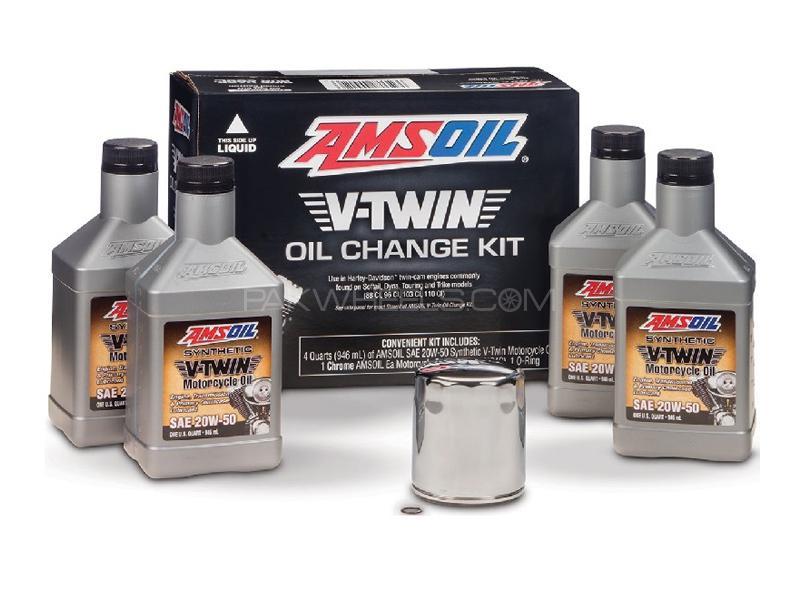 Amsoil Harley V-Twin Oil Change Kit Image-1