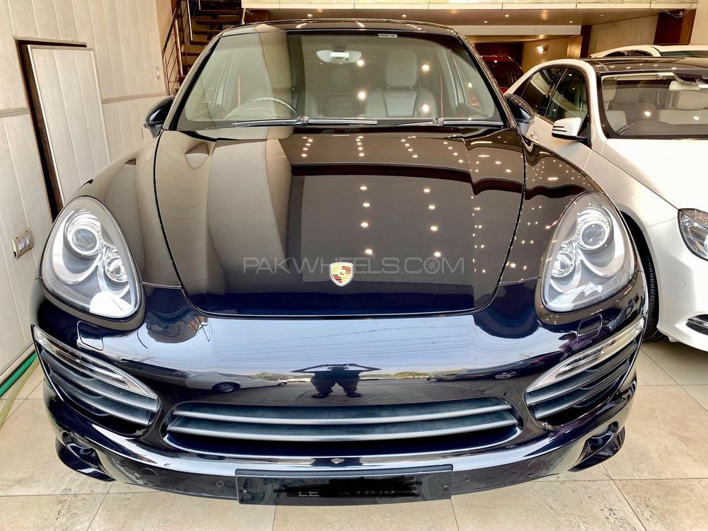 Porsche Cayenne S E-Hybrid Platinum Edition 2013 Image-1