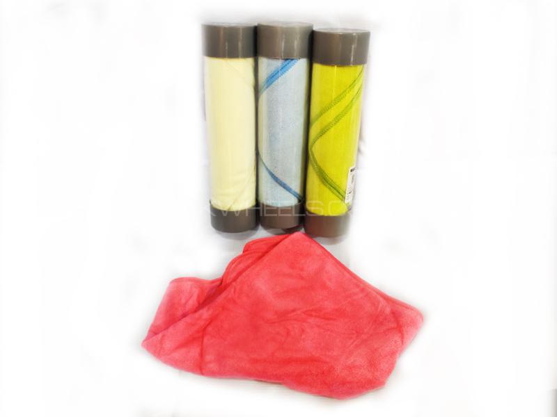 Car Multi Purpose Microfiber Towel Roll Image-1