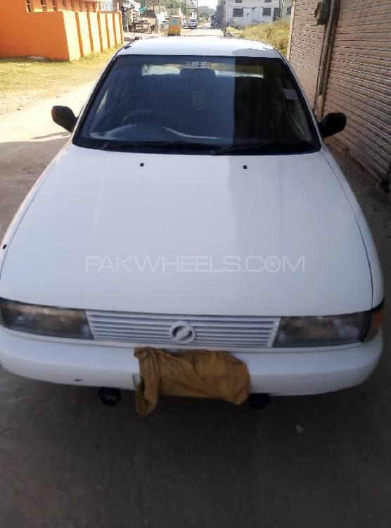 Nissan Sunny EX Saloon 1.3 (CNG) 1990 Image-1