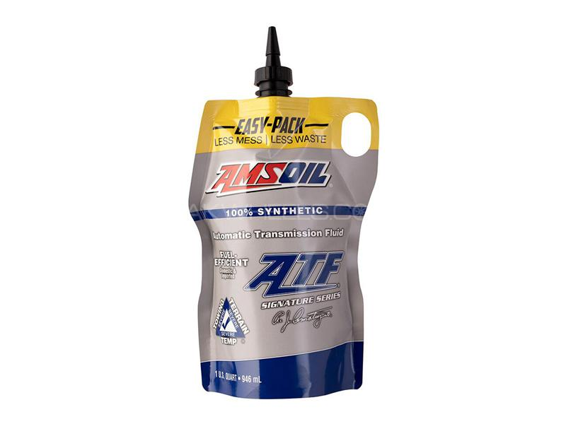 Amsoil Signature Series Fuel-Efficient Synthetic Automatic Transmission Fluid 946ml Image-1
