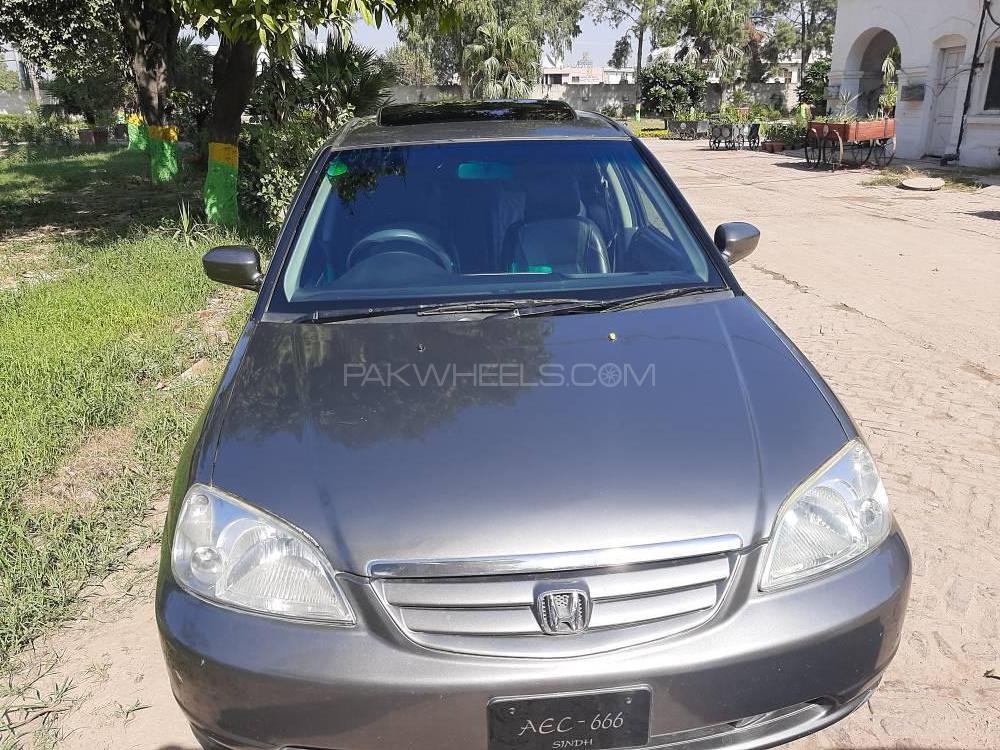 Honda Civic VTi Oriel Prosmatec 1.6 2002 Image-1