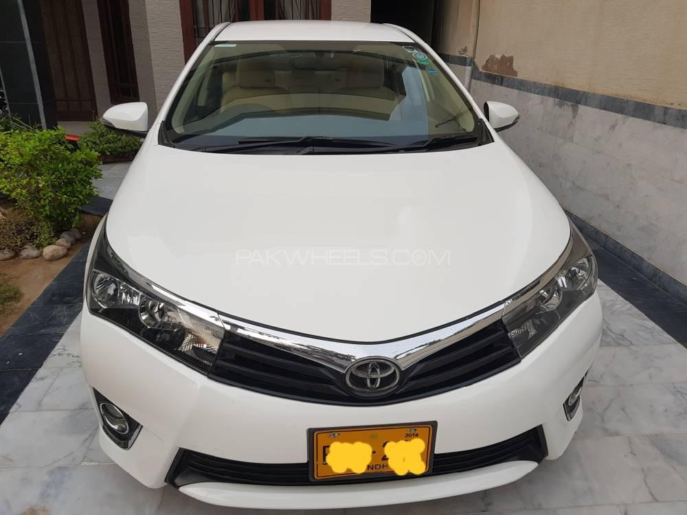 Toyota Corolla Altis Sportivo Automatic 1.6 2014 Image-1
