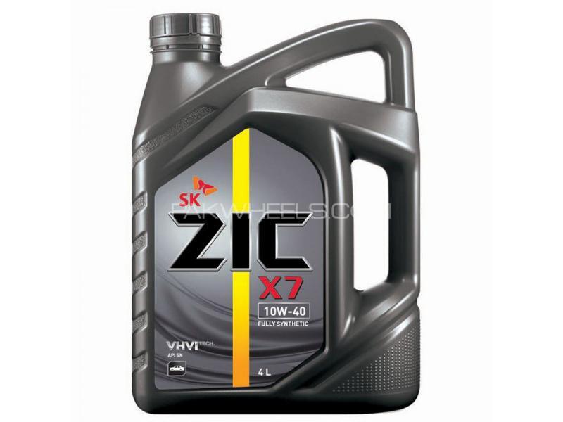 Zic X7 Eingine Oil 10W-40 - 4 Litre Image-1