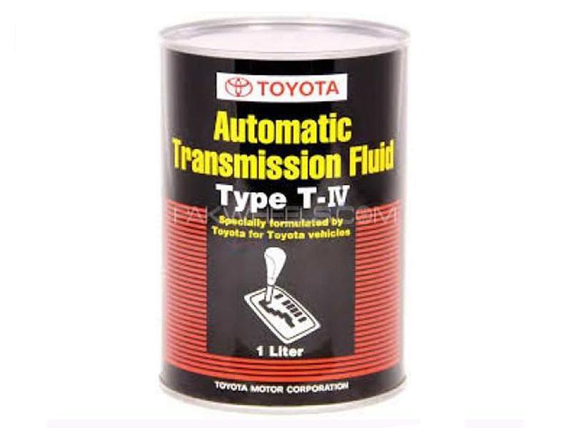 Toyota Genuine ATF T-4 - 1 Litre Image-1