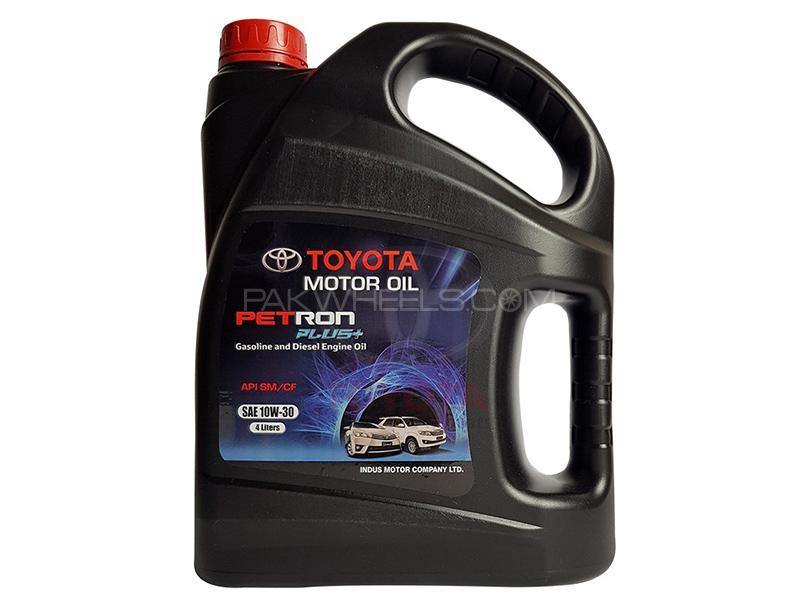 Toyota Petron Plus Engine Oil 10W-30 - 4 Litre Image-1