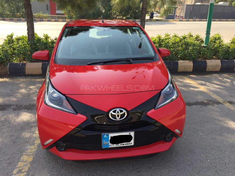 Toyota Aygo Standard 2016 Image-1