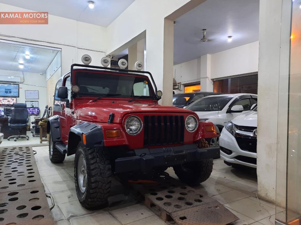 Jeep Wrangler 2001 Image-1