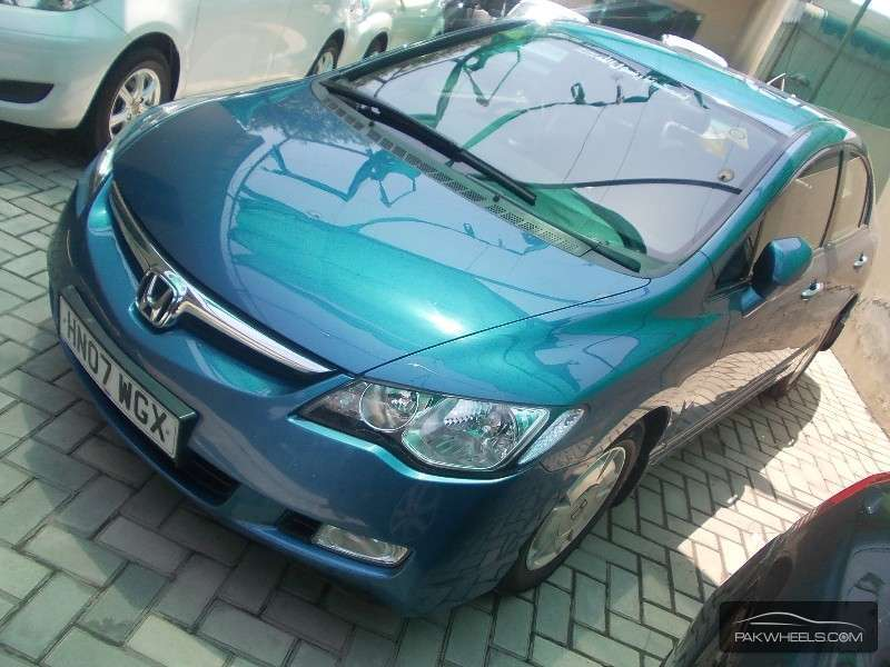 used honda civic hybrid 2007 car for sale in lahore 856962 pakwheels. Black Bedroom Furniture Sets. Home Design Ideas