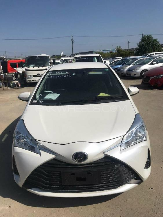 Toyota Vitz F Smile Edition 1.0 2018 Image-1
