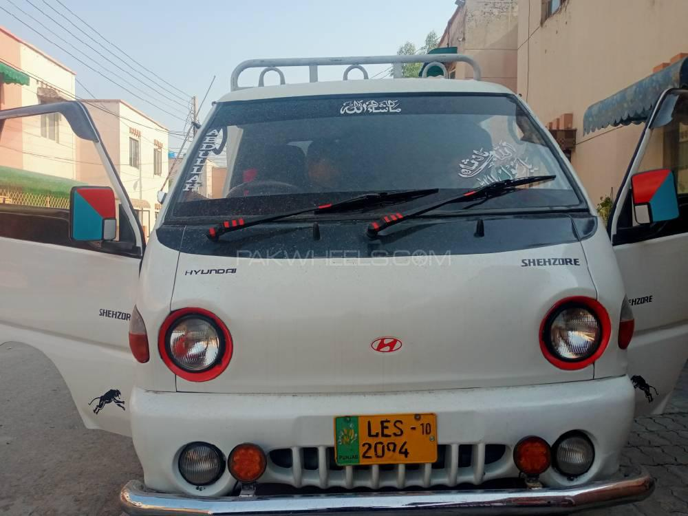 Daehan Shehzore Pickup 2.6 2010 Image-1