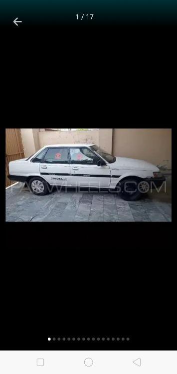 Toyota Corona EX Saloon 1985 Image-1