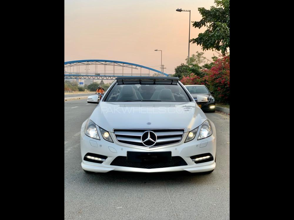 Mercedes Benz E Class Cabriolet E 250 2012 Image-1