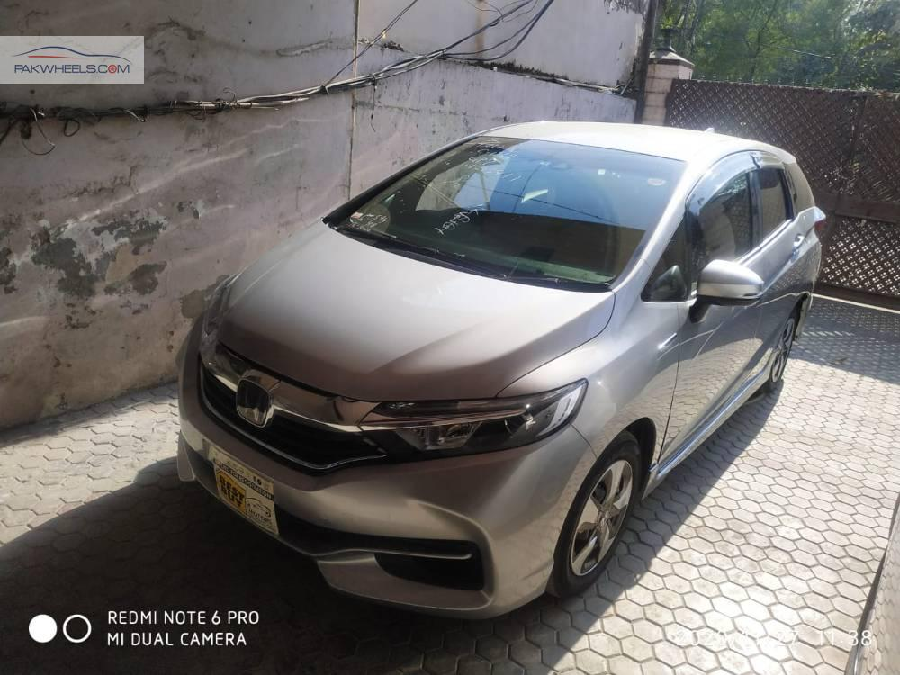 Honda Fit Shuttle Hybrid Z 2018 for sale in Lahore   PakWheels