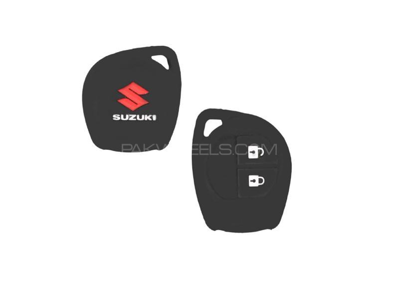 Suzuki Liana 2006-2014 Soft Silicone Key Cover Black in Lahore