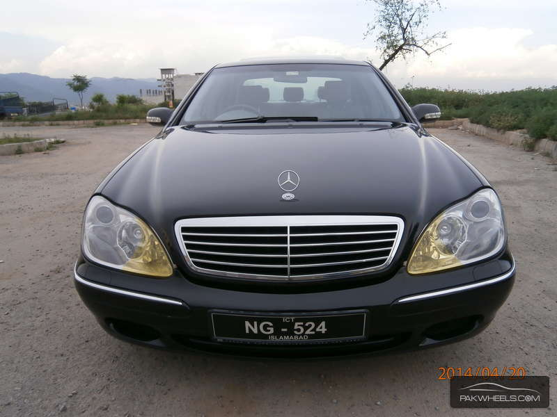 Mercedes benz s class s 320 2002 for sale in islamabad for Mercedes benz 2002 s500 for sale