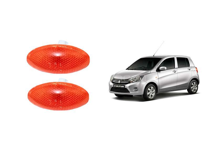 Suzuki Cultus 2017-2020 Fender Indicator Orange 2pcs Image-1