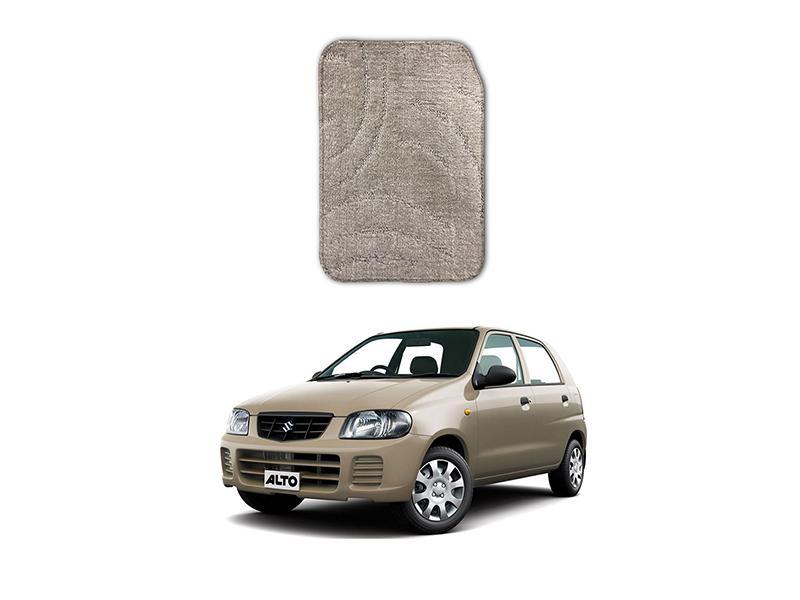 Suzuki Alto 2000-2012 Marflex Floor Mats Premium Beige in Lahore