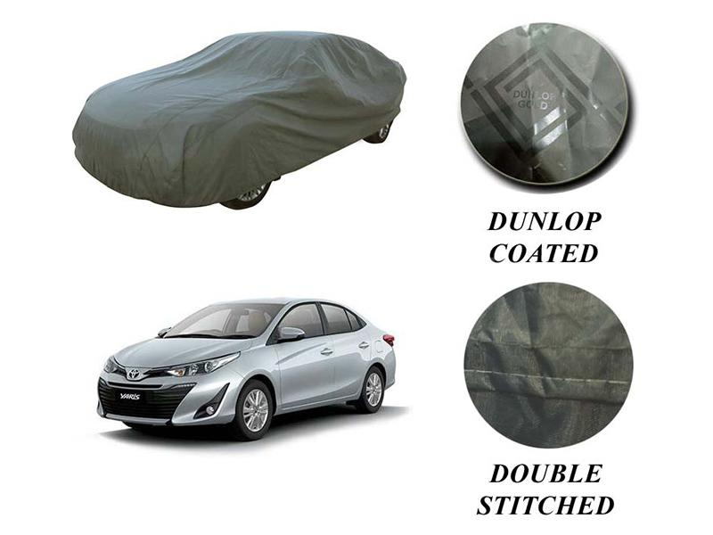Toyota Yaris 2020-2021 PVC Coated Double Stitched Top Cover in Karachi