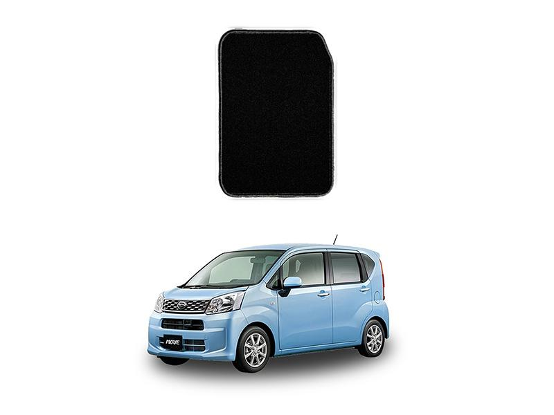 Daihatsu Move Marflex Floor Mats Premium Black in Lahore