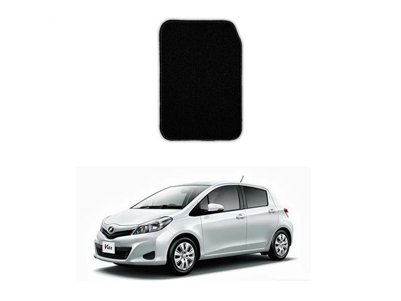 Toyota Vitz 2014-2020 Marflex Floor Mats Premium Black in Lahore